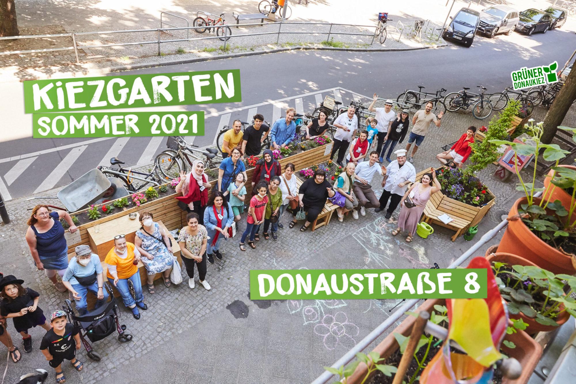 Stadtteilgrün und Umweltgerechtigkeit im Donaukiez